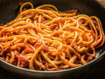 il cuoco a bordo: l'Amatriciana