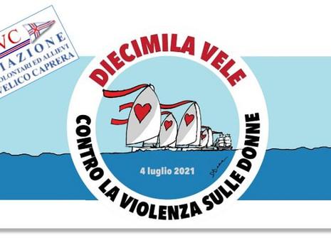 10000 Vele contro la violenza sulle donne