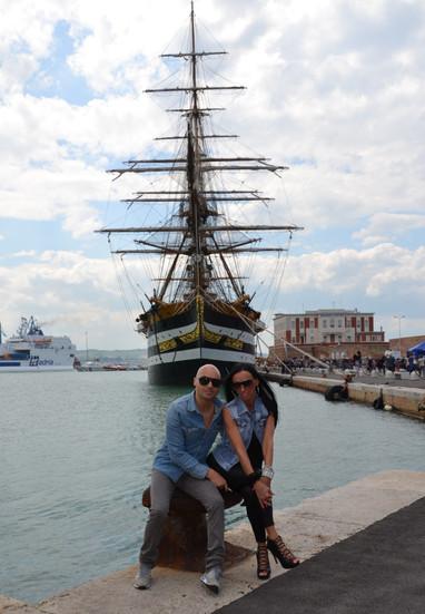 Andrea D'Angelo e famiglia, Ancona, maggio 2016