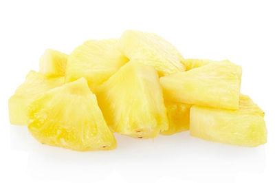 Ananasu gabaliņi vieglā sīrupā