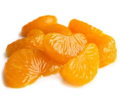 Mandarīnu daiviņas vieglā sīrupā