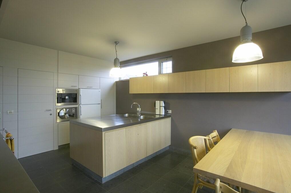 keuken eik/inox