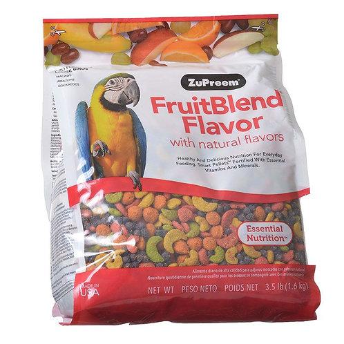 ZuPreem FruitBlend Flavor Bird Food for Large Birds 3.5lb