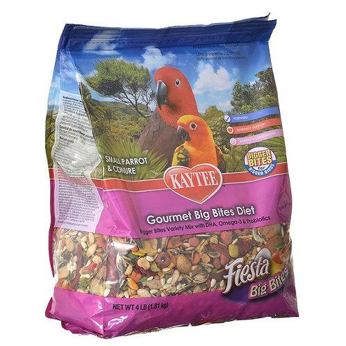 Kaytee Fiesta Small Parrot & Conure Gourmet Big Bites Diet
