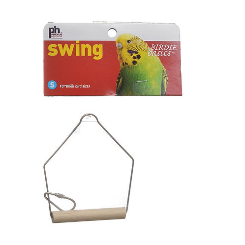 "Prevue Birdie Basics Swing - Small Birds   3""L x 4""H"
