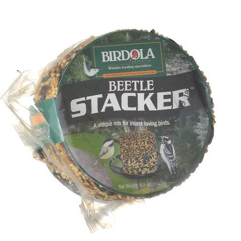 Birdola Beetle Stacker Seed Cake  6.5oz