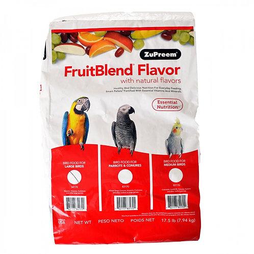 ZuPreem FruitBlend Flavor Bird Food for Large Birds