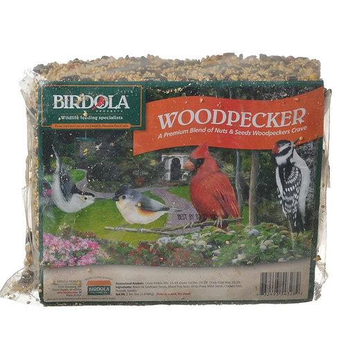 Birdola Woodpecker Seed Cake  2.5lb