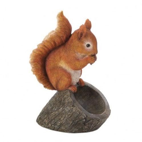 Red Squirrel Bird Feeder