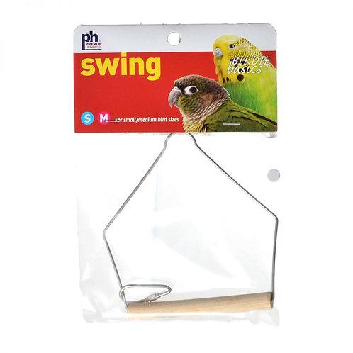 "Prevue Birdie Basics Swing - Small/Medium Birds  4""L x 5""H"