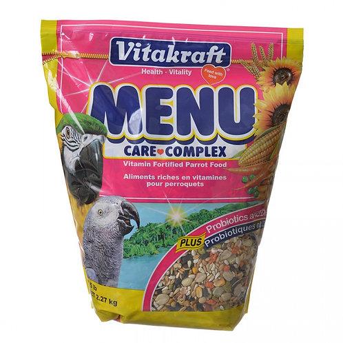 Vitakraft Menu Care Complex Parrot Food  5lb