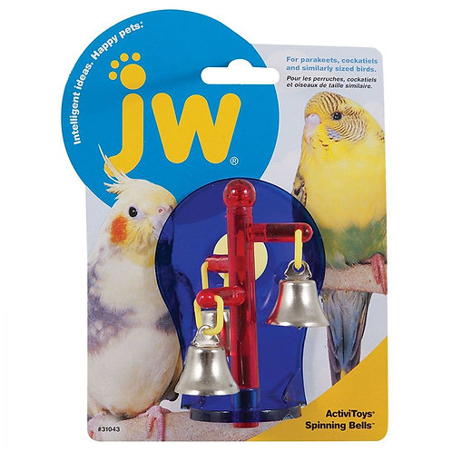 JW Insight Spinning Bells Bird Toy