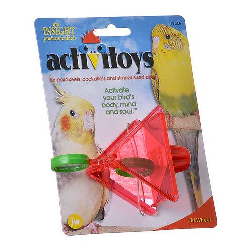 JW Insight Tilt Wheel Bird Toy