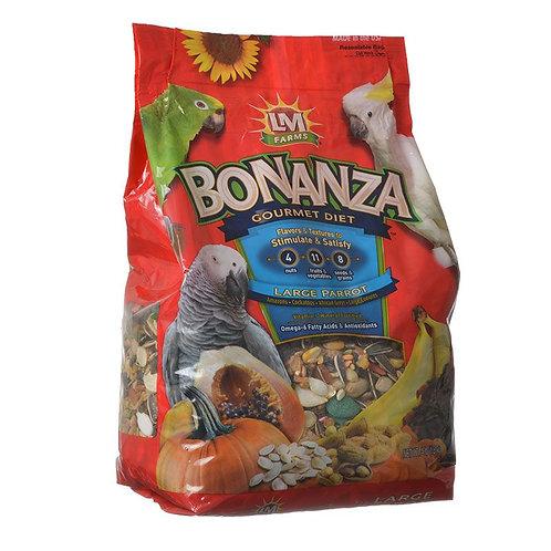 LM Animal Farms Bonanza Large Parrot Diet  4lb