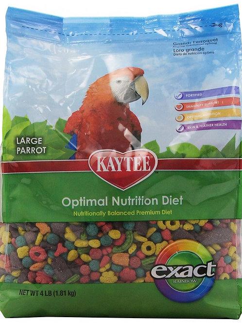 Kaytee Exact Rainbow Chunky Parrot Food 4lb