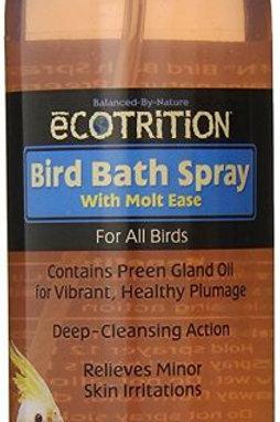 Ecotrition Bird Bath Spray with Molt Ease