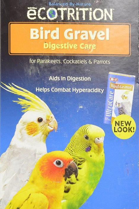 Ecotrition Bird Gravel for Parakeets, Cockatiels & Parrots