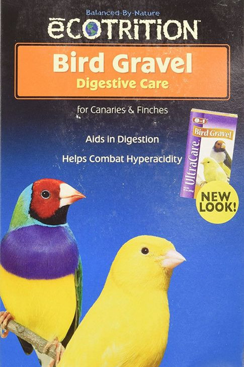 Ecotrition Bird Gravel Platinum for Canaries & Finches