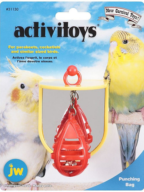 JW Insight Punching Bag Plastic Bird Toy
