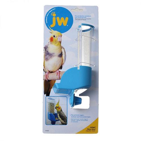 JW Insight Clean Seed Silo Bird Feeder