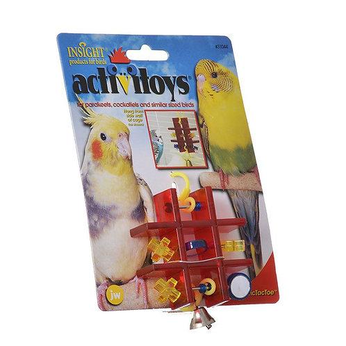 JW Insight Tic Tac Toe Bird Toy