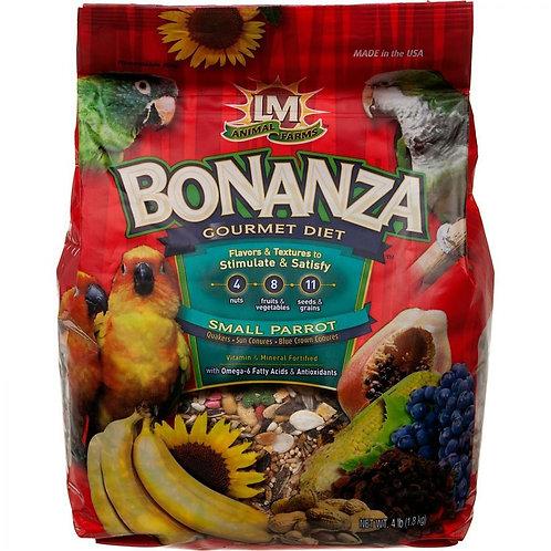 LM Animal Farms Bonanza Small Parrot Gourmet Diet  4lb