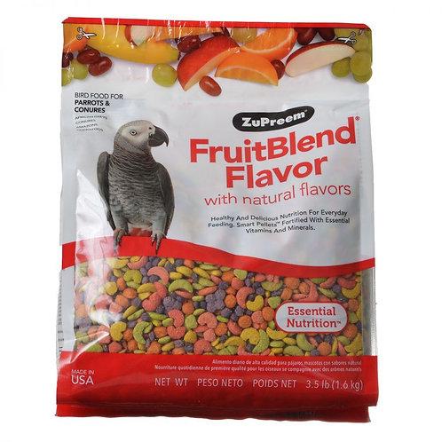 ZuPreem FruitBlend Flavor Bird Food for Parrots & Conures  3.5lb
