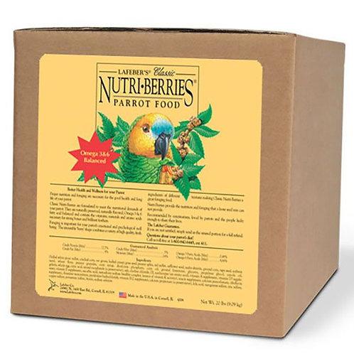 Lafeber Classic Nutri-Berries Parrot Food  20lb