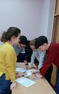 2. тренінги з підготовки студентів-волон