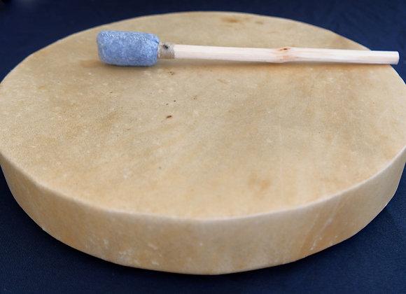 Tambour - Sapin et Cerf - 40 cm