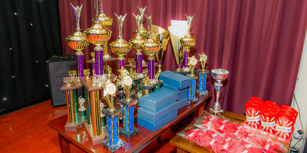 Showcase and Trophy giving