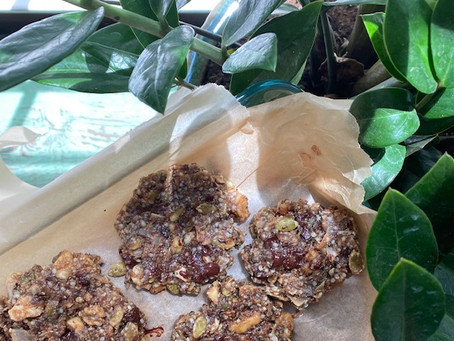 Superfood Protein Cookies- The perfect on the go snack!