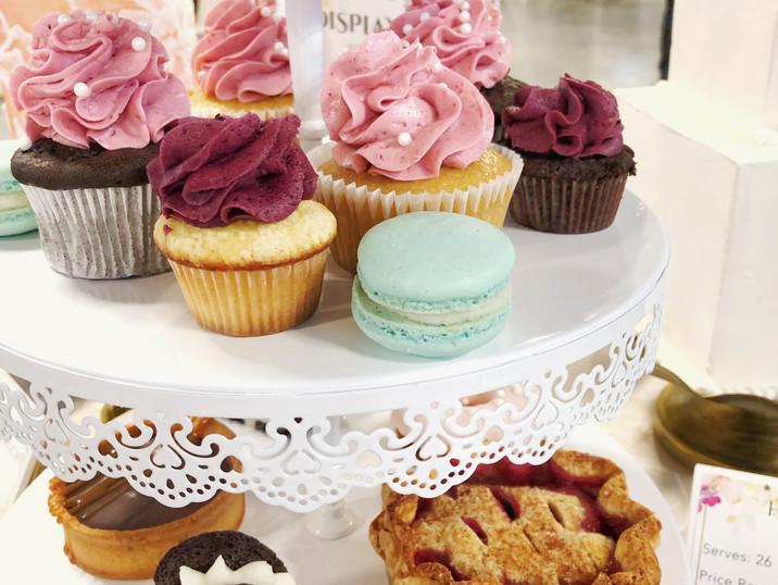 Pies, macarons, cupcakes, tarts, whoopie pies...oh my!