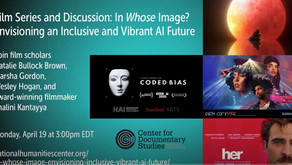 Conversation about AI + Film @National Humanities Center