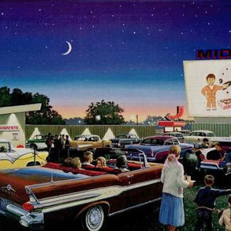 Drive-In Movies on Movies on the Radio