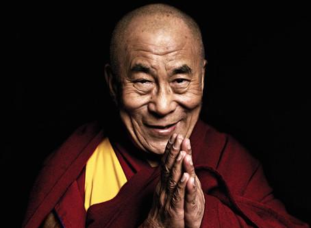 El cientifico y Su Santidad el Dalai Lama XIV