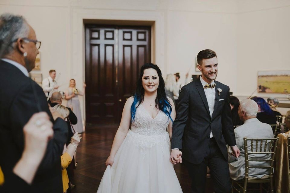 wedding gown changes