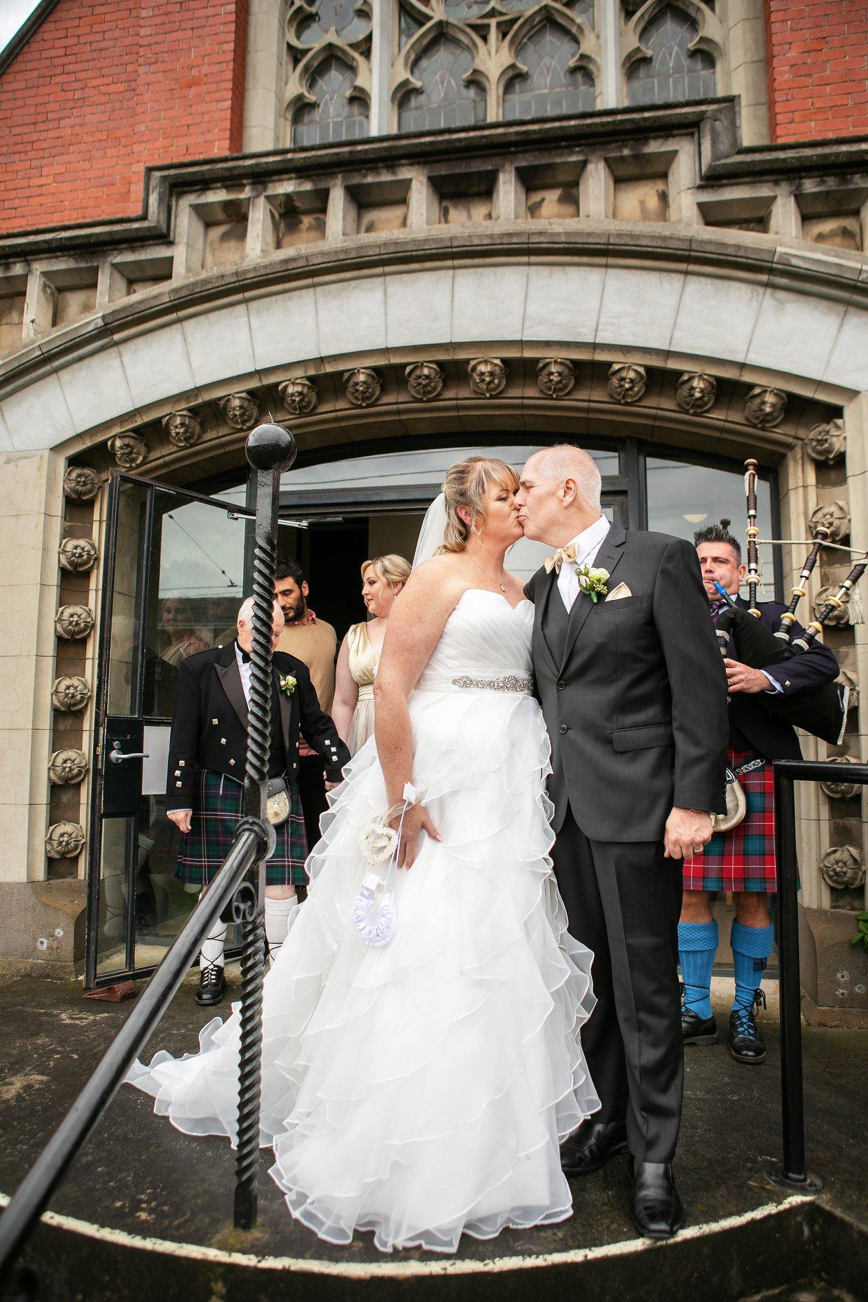 Bridal dress changes