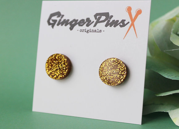 Circle Studs All That Glitters Gold