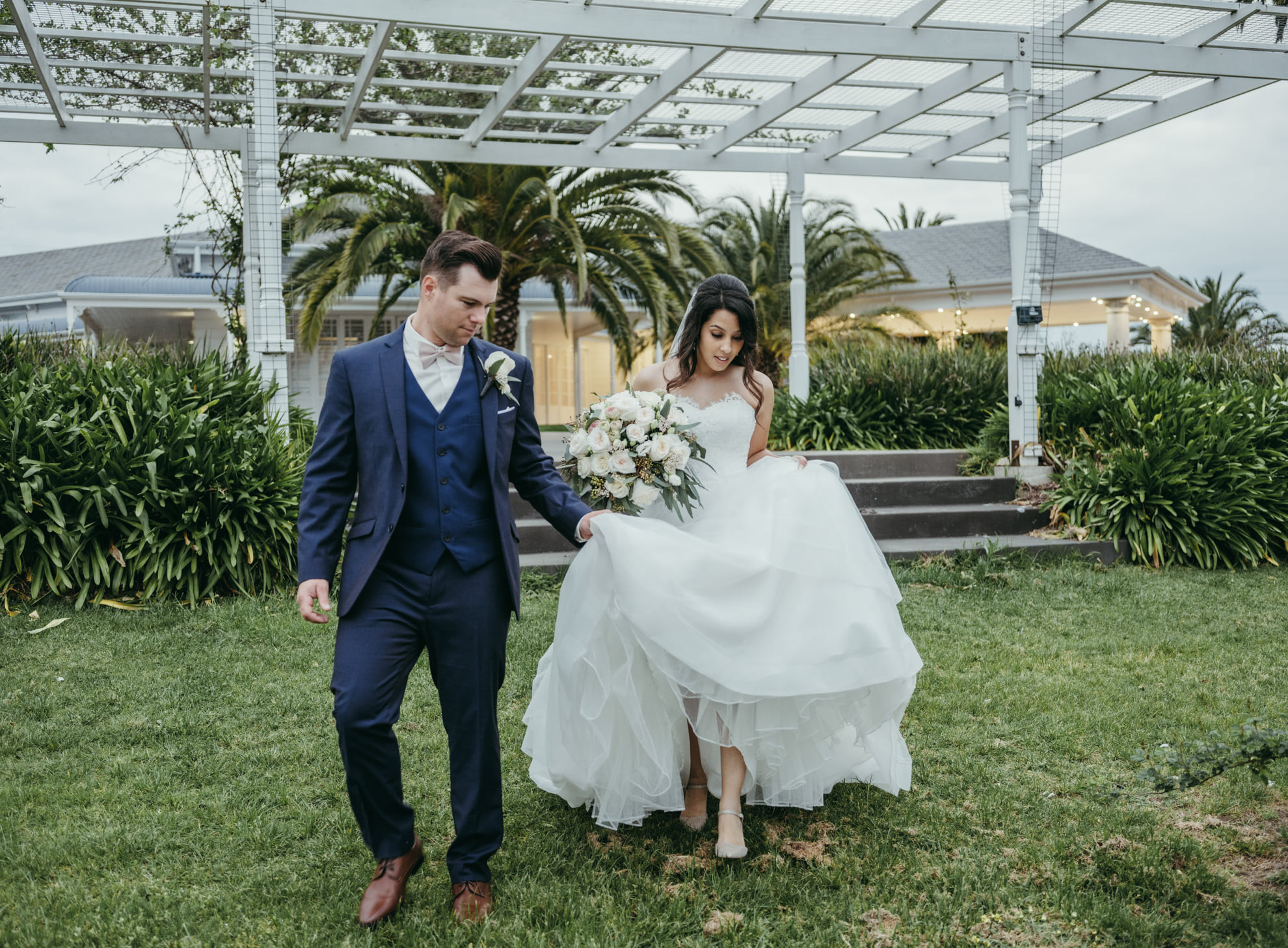 Traditional bridal alterations