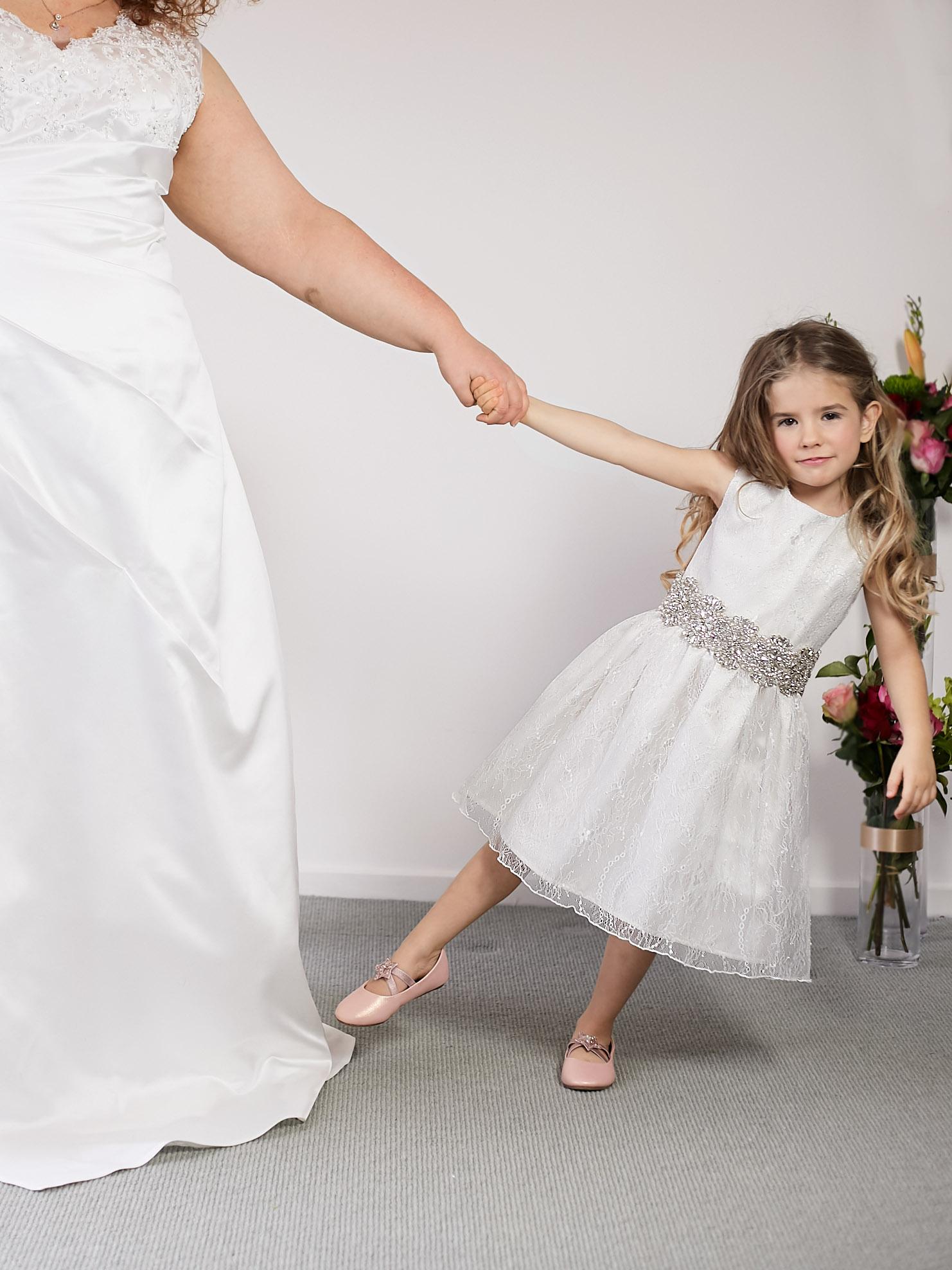 Polly-Anne Flower Girl Dress