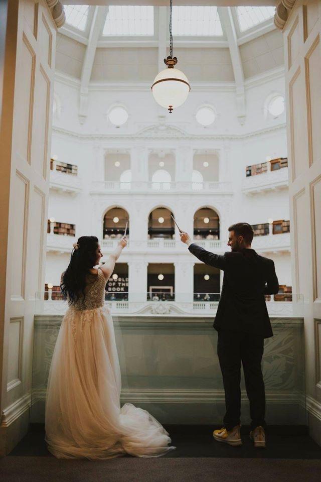 wedding dress changes