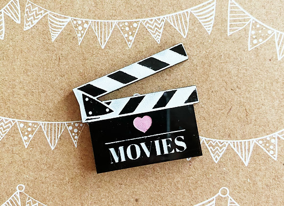 Movie Lovers Brooch
