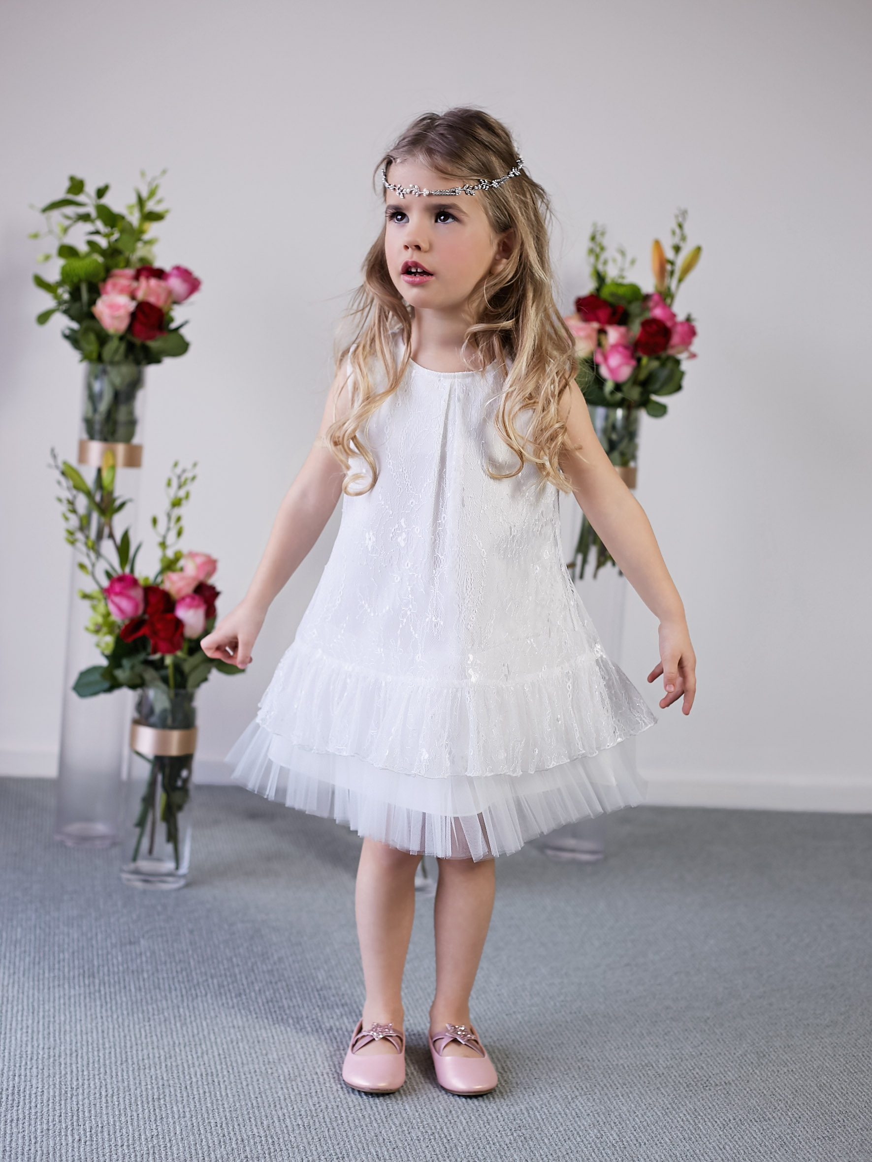 Daisy-May Flower Girl Dress