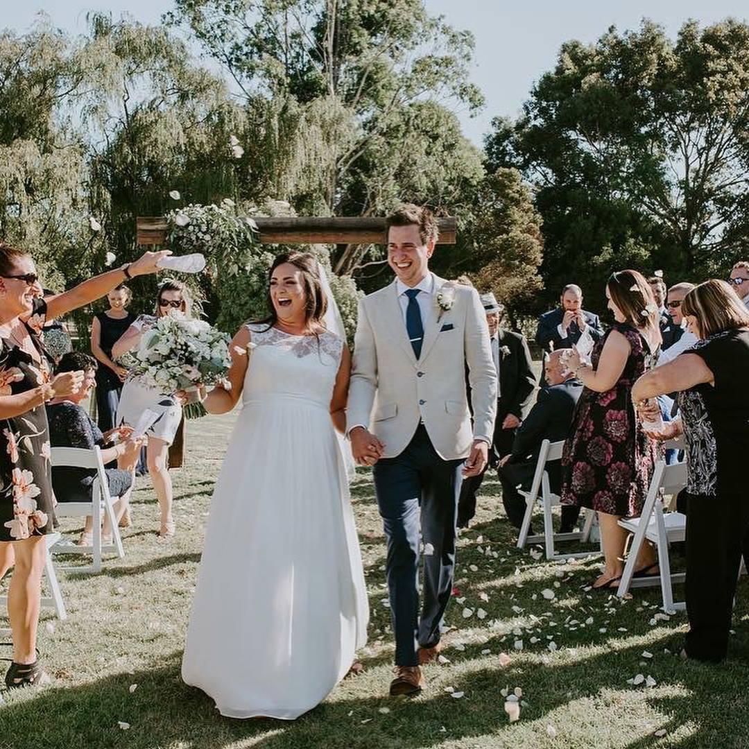 Traditional wedding dress alteration