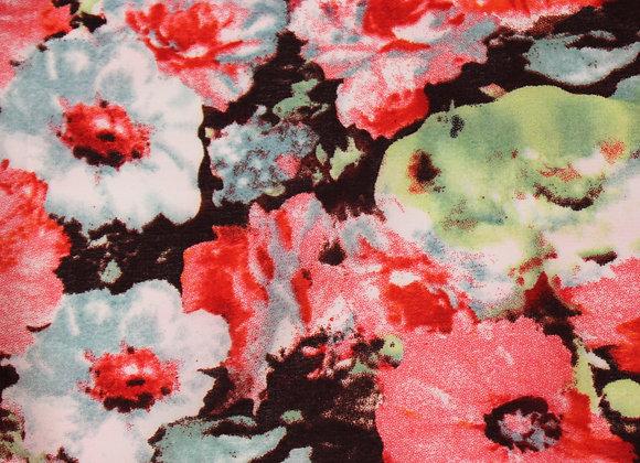 Blossom Red Headscarf