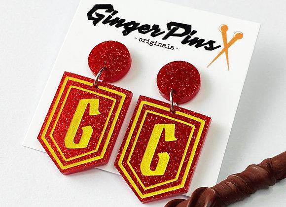 Gryffindor Dangles