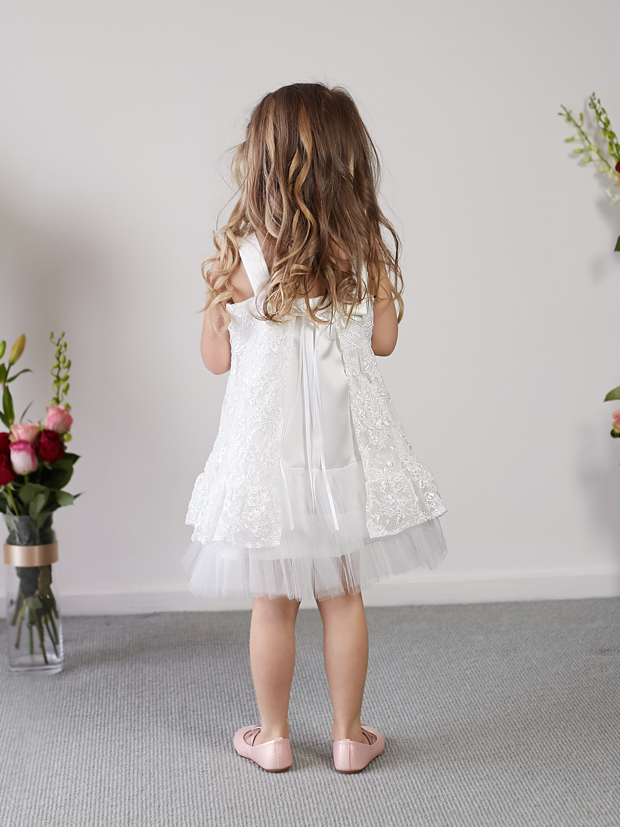 One of a Kind Flower Girl Dress