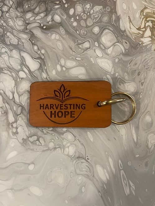 Harvesting Hope Keychain