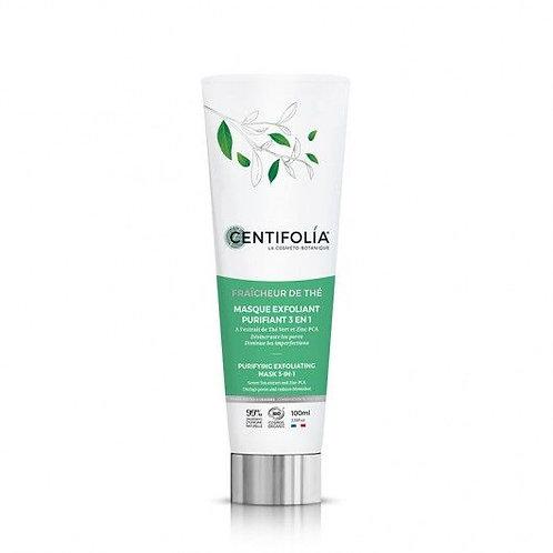 Masque exfoliant purifiant 3 en1  EN STOCK  REF CE0413  Pour une peau nettoyée et purifiée en un seul geste -Cosmenaturbio